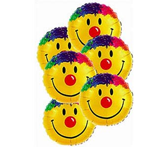 Smiley Balloon Bouquet in Princeton, Plainsboro, & Trenton NJ, Monday Morning Flower and Balloon Co.