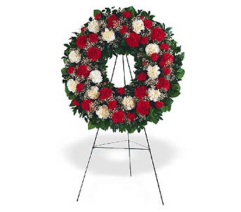 Hope and Honor Wreath in Santa Clara CA, Citti's Florists