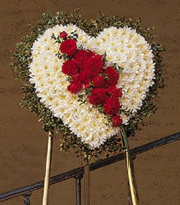 Tribute Heart in Santa Clara CA, Citti's Florists
