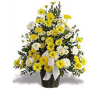 Loving Thoughts Funeral Basket-FREE DELIVERY! in Cohasset MA, ExoticFlowers.biz
