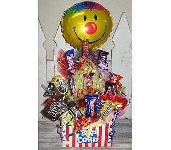 GET POPPIN candy bouquet< in Wichita KS, The Flower Factory, Inc.