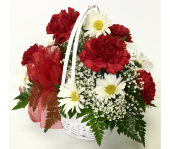 Basket of Love-9 inch Princess Basket-Round Design in Wyoming MI, Wyoming Stuyvesant Floral