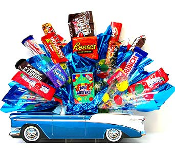 BelAirCB ''Sweet Ride'' Candy in Oklahoma City OK, Array of Flowers & Gifts
