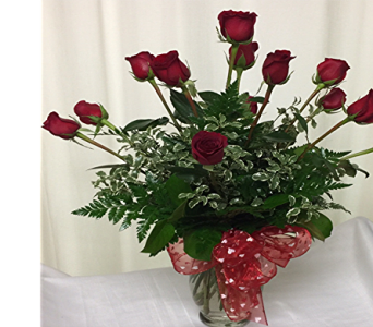 Dozen Red Roses in Titusville FL, Floral Creations By Dawn