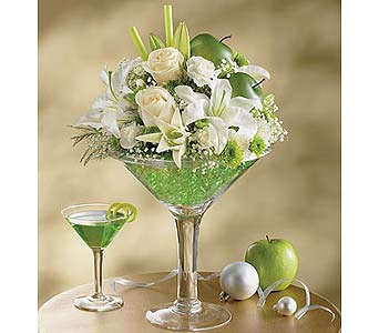 Apple-tini in Wichita KS, The Flower Factory, Inc.