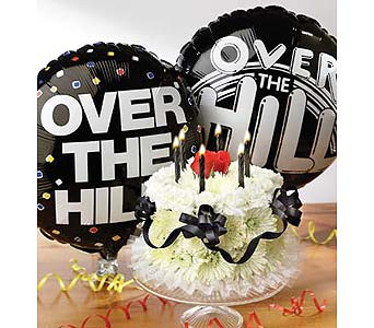 Over-the-Hill cake in Wichita KS, The Flower Factory, Inc.