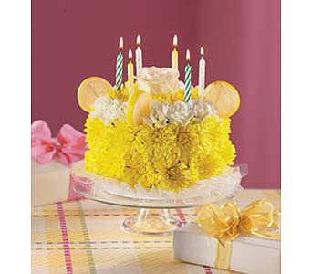 Yellow Cake in Wichita KS, The Flower Factory, Inc.