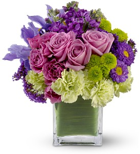 Teleflora's Mod About You in Tustin CA, Saddleback Flower Shop