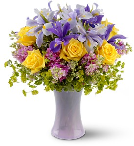 Lavender Sunshine in New York NY, CitiFloral Inc.