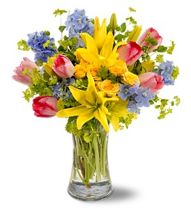 Spring Delight in Bellevue WA, Lawrence The Florist