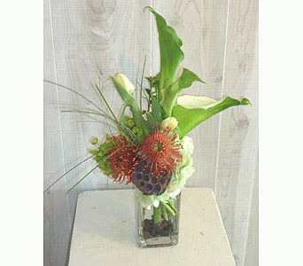 The Tropical Touch in Dallas TX, Petals & Stems Florist