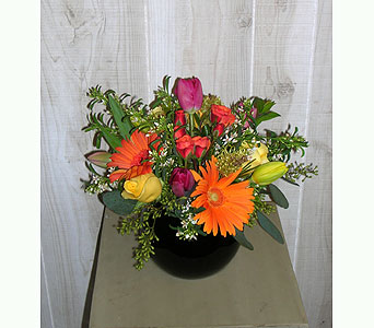 The Lori Ann in Dallas TX, Petals & Stems Florist