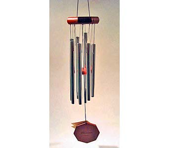 Wind Chime-sm/med/lg in Brownsburg IN, Queen Anne's Lace Flowers & Gifts