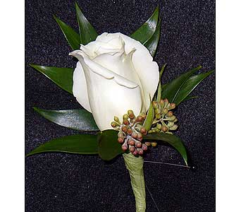 White Rose in Massapequa Park NY, Bayview Florist & Montage  1-800-800-7304
