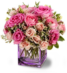 Teleflora's Rose Confection in Fairfield CT, Tom Thumb Florist