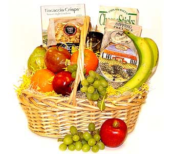 Gourmet Fruit Basket in Raritan NJ, Angelone's Florist