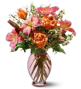 Teleflora's Dawn Inspiration Bouquet in Murrieta CA, Michael's Flower Girl