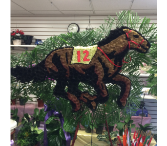 Horse in Brooklyn NY, David Shannon Florist & Nursery