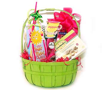 Summertime Sparkler Basket in Raritan NJ, Angelone's Florist