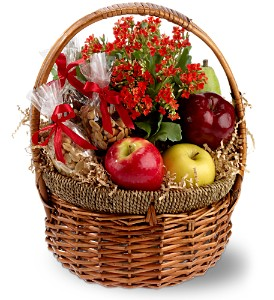Health Nut Basket in Washington DC, Flowers on Fourteenth