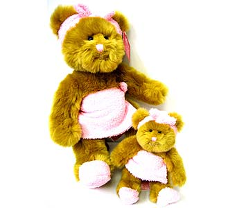 PLUSH150 8'' & 14'' Bath Time Bears in Oklahoma City OK, Array of Flowers & Gifts