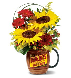 Rootin' for Dad - Deluxe Bouquet in San Diego CA, Flowers Of Point Loma