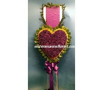 PURPLE HEART in Jersey City NJ, Entenmann's Florist
