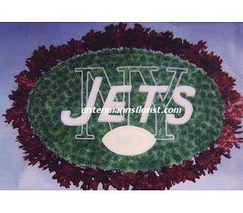 Jets Football in Jersey City NJ, Entenmann's Florist