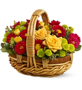 Bundle of Sunshine in Fort Myers FL, The Master's Touch Florist