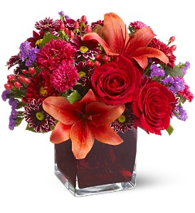 Teleflora's Autumn Grace in Gaylord MI, Flowers By Josie
