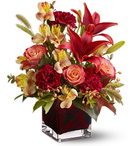 Teleflora's Indian Summer in Laurel MD, Rainbow Florist & Delectables, Inc.