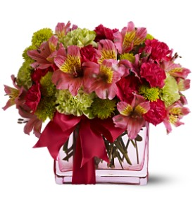 Teleflora's Cheers To You in Lake Forest CA, Cheers Floral Creations