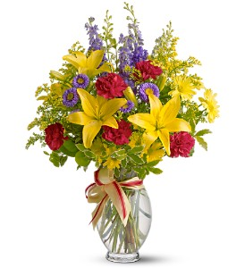 Teleflora's Sunny Side in Grapevine TX, City Florist