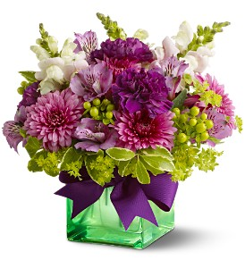 Teleflora's Cheerful Wishes in South Plainfield NJ, Mohn's Flowers & Fancy Foods