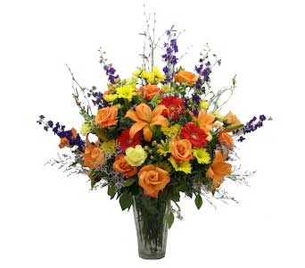 Our Best Fall Bouquet in Wichita KS, Tillie's Flower Shop