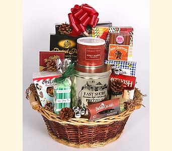 Holiday Gourmet Basket in Southampton PA, Domenic Graziano Flowers