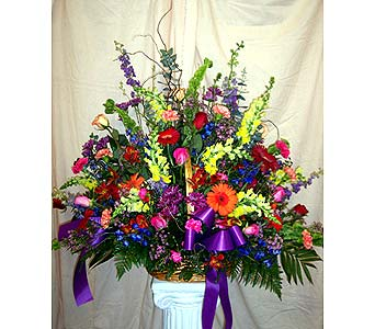 Exquisite Garden Basket in Indianapolis IN, Gillespie Florists