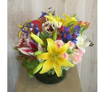 The Jan in Dallas TX, Petals & Stems Florist