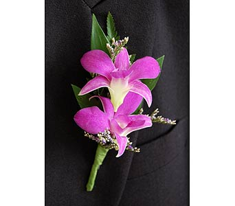 Dendrobium Boutonniere in Towson MD, Radebaugh Florist and Greenhouses