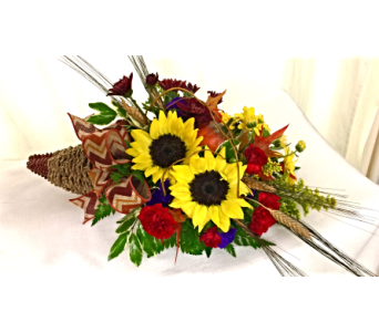 Cornucopia Basket  in Titusville FL, Floral Creations By Dawn