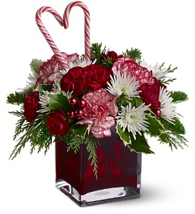 Teleflora's Holiday Sweetheart in Astoria OR, Erickson Floral Company