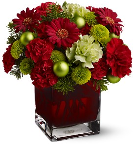 Teleflora's No�l Chic in Calgary AB, All Flowers and Gifts