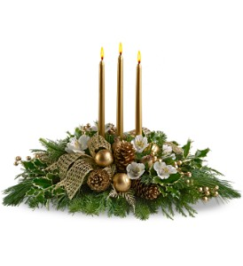 Royal Christmas Centerpiece in Hunt Valley MD, Hunt Valley Florals & Gifts