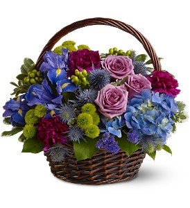 Twilight Garden Basket in Somerset NJ, Flower Station