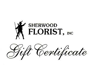 sherwood florist gift certificate in spring hill fl