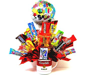 CB168 ''Sweet Therapy'' Get Well Candy Bouquet in Oklahoma City OK, Array of Flowers & Gifts