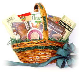 The Gourment Basket in Raritan NJ, Angelone's Florist - 800-723-5078