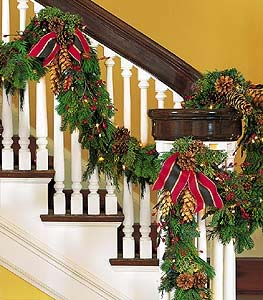 Staircase Garland in Campbell CA, Citti's Florists