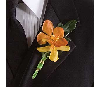 Spray Orchid Boutonni�re in Williamsport PA, Janet's Floral Creations