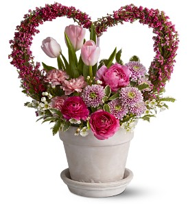 All My Heart in Norwich NY, Pires Flower Basket, Inc.